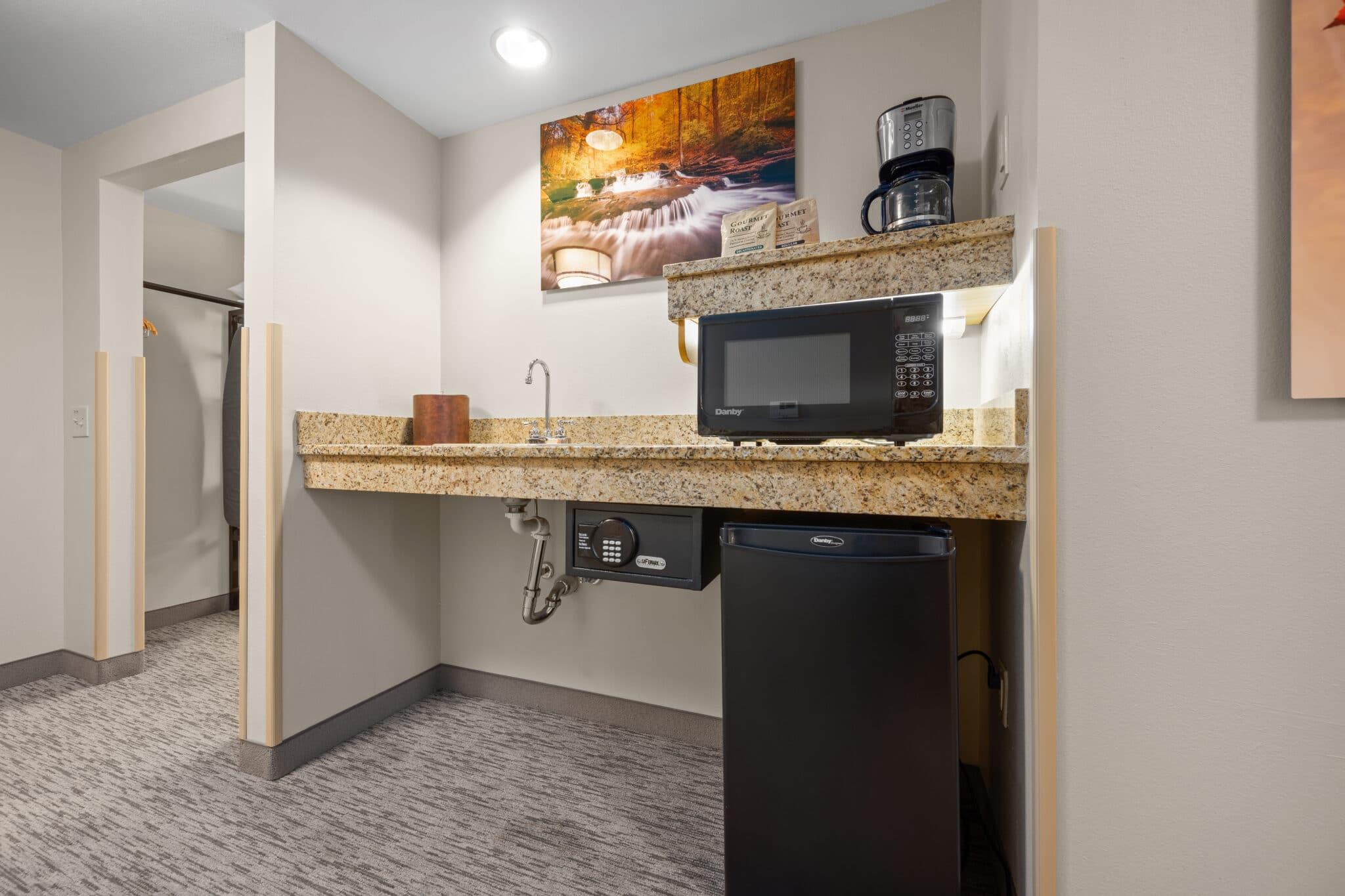 Two Bedroom Suite Wet Bar