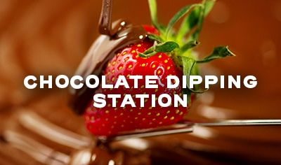 Chocolate Dipping Station