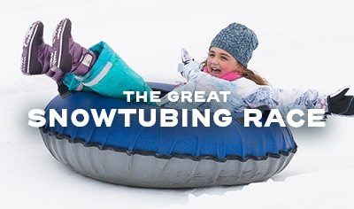 The Great Snowtubing Race