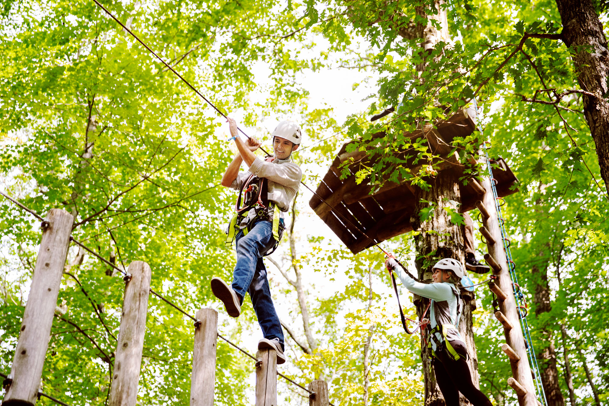 Treetops Rope Course